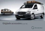 Originele accessoires voor de Vito. - Mercedes-Benz