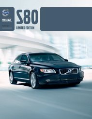 S80LIMITED EDITION - Volvo