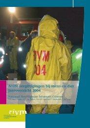 RIVM rapport 348802022 Acute vergiftigingen bij mens en dier ...