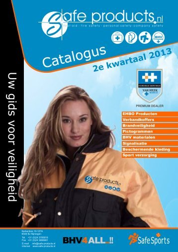 Download catalogus - Safe Products