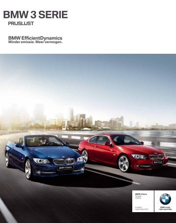 BMW 3 SERIE - Hans Severs - Bmw
