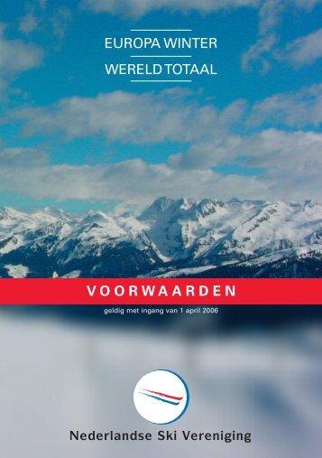 Polisvw Europa winter - Wintersport.nl