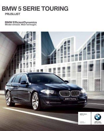 BMW 5 SERIE TOURING - Jan de Jong