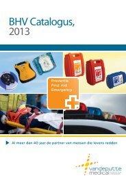 BHV Catalogus, 2013 - Vandeputte Medical