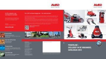 alko powerline folder - O. De Leeuw Groentechniek