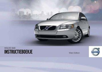 Instructieboekje - ESD - Volvo