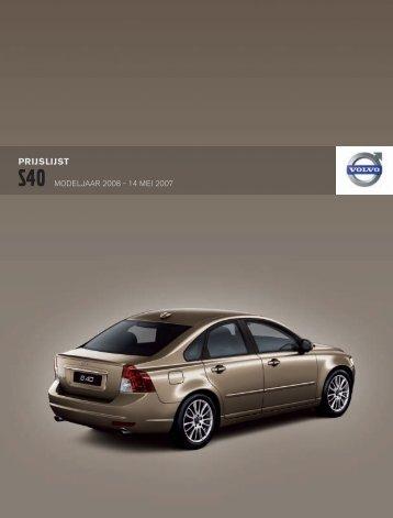 Modeljaar 2008 (mei 2007) - Volvo