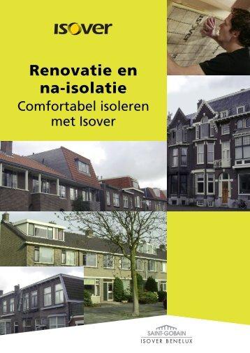 Brochure Renovatie en na-isolatie - Isover