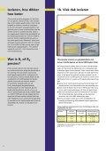 Brochure Renovatie en na-isolatie - Isover - Page 6