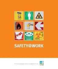 Safety at work - VIB
