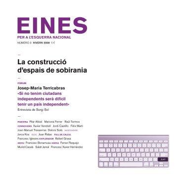 03. La construcció d'espais de sobirania - Fundació Josep Irla