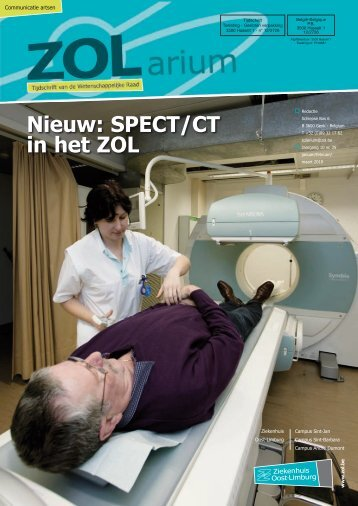 Nieuw: SPECT/CT in het ZOL