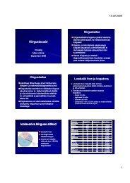 Loeng 6 - Tartu Ülikooli Kliinikum