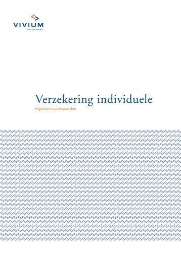Verzekering individuele - Vivium