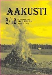Aakusti 2/2012 (PDF)