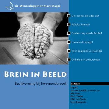 cahier Brein in Beeld - Biomaatschappij