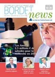 Bordet News 99 - Amis Institut Bordet