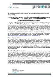 Document en format pdf. 55Kb. - Agència de Salut Pública de ...