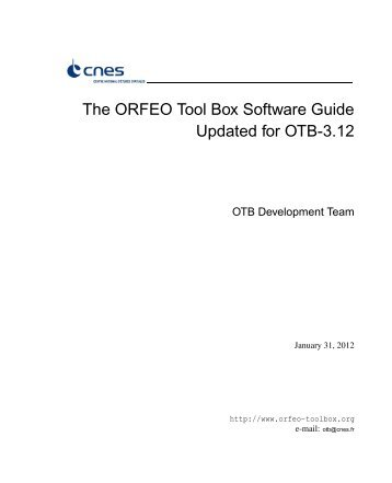 OTB Software Guide