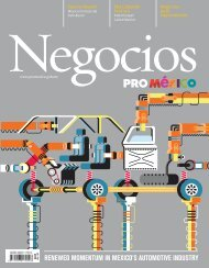 Renewed MoMentuM in Mexico's AutoMotive industRy
