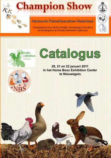 Catalogus - Champion Show