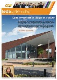 Lede investeert in jeugd en cultuur - Lede - CD&V
