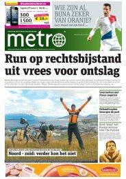 Run op rechtsbijstand uit vrees voor ontslag - Metro