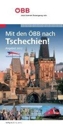 Tschechien! - Österreichische Bundesbahnen ÖBB