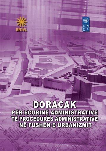doracak për ecurinë administrative të procedurës - UNDP