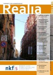 i tidskriften: Realia - papperskonservering.se