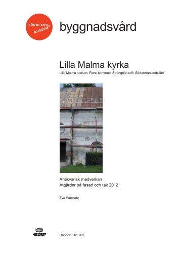 Lilla Malma kyrka - Sörmlands museum