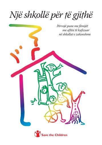 Një sh ollë për ë gji hë - Save The Children : Albania