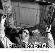 SIMON SÖRMAN - Kulturarv Värmland