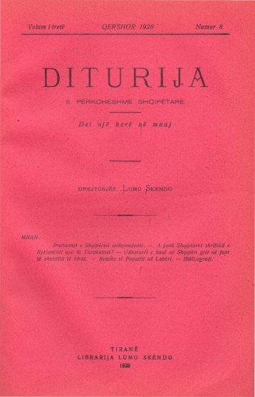 Diturija (Knowledge) 1928 No8
