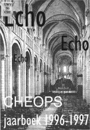 cheops - Technische Universiteit Eindhoven