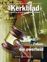Die Kerkblad Junie 2011.indd - CJBF