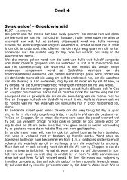 Deel 4 - Nuweopenbaring::: Welkom by Die Nuwe Openbaring