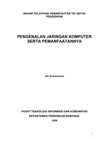 Modul - Pengenalan Jaringan Komputer dan ... - tutorial bahan ajar