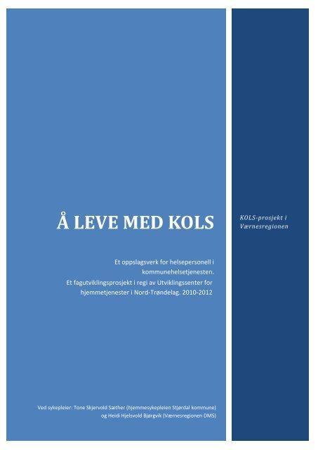 Her finner du oppslagsverket Å leve med KOLS - Stjørdal kommune