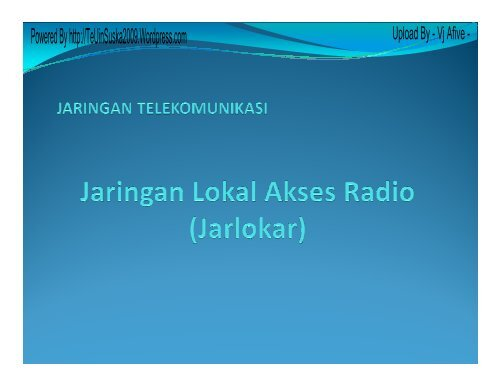Jaringan Lokal Akses Radio