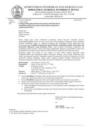 Surat Undangan Lembaga Penelitian - Dikti - Direktorat Jenderal ...