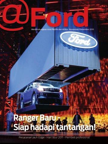 Ranger Baru - Siap hadapi tantangan! - Ford
