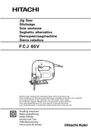 FCJ65V_WE_6L Press PDf 2005.10.27 - Hitachi Koki Co., Ltd.