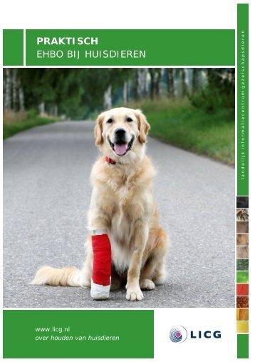 """"""" EHBO bij huisdieren """" (PDF 0,45 MB) - Licg"""