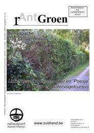 rAntGroen 16 : oktober - december 2005 - Welkom op de site van ...
