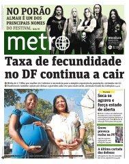 Taxa de fecundidade no DF continua a cair
