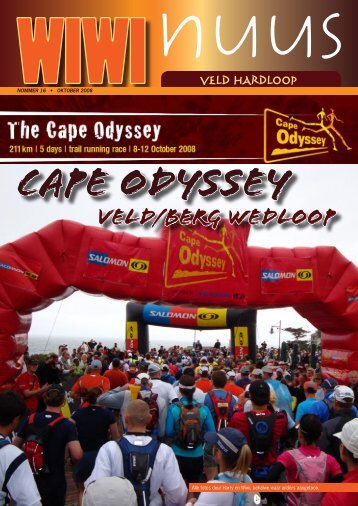 Cape odyssey veld/berg wedloop - Sciencelens
