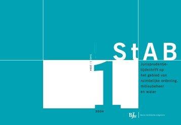 StAB JT 2004 Nummer 1 - Stichting Advisering Bestuursrechtspraak