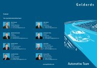 Automotive Brochure - Geldards