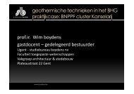 Wim Boydens - Leefmilieu Brussel